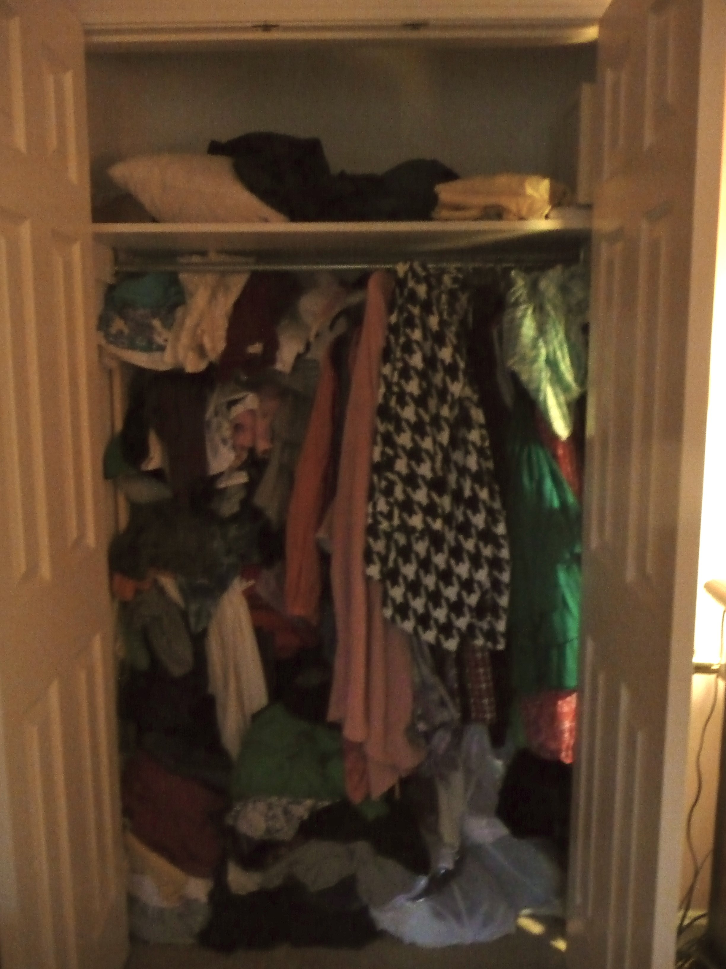Staging Your Next Move / Closet Before