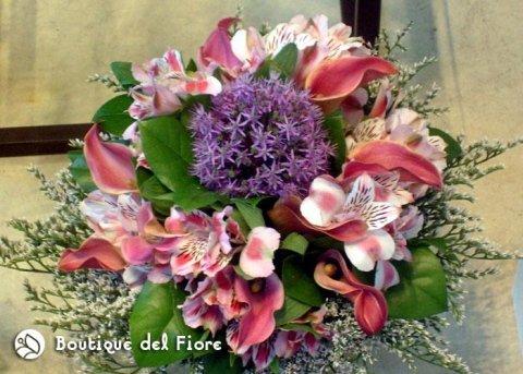 bouquet con gigli