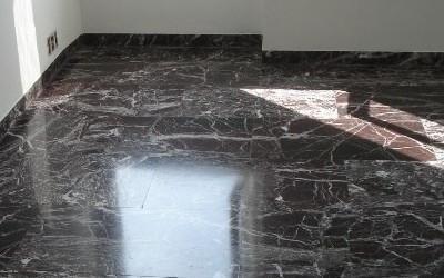 Protezione dallo sporco sul marmo
