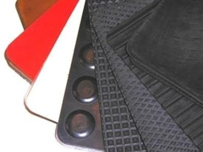 Rubber sheeting and mats