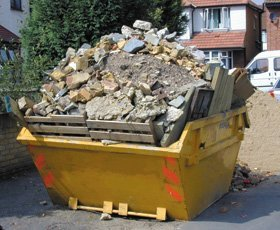 Skip hire - Selby, North Yorkshire, Knottingley, West Yorkshire - K.M.R Skip Hire Limited - Rubbish skip