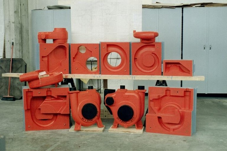 modelli per fonderia