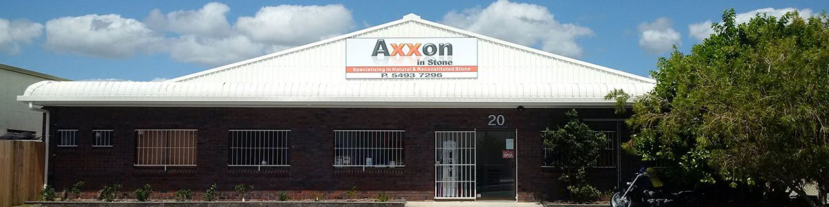 axxon in stone side our business loction front side view