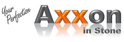 axxon in stone logo