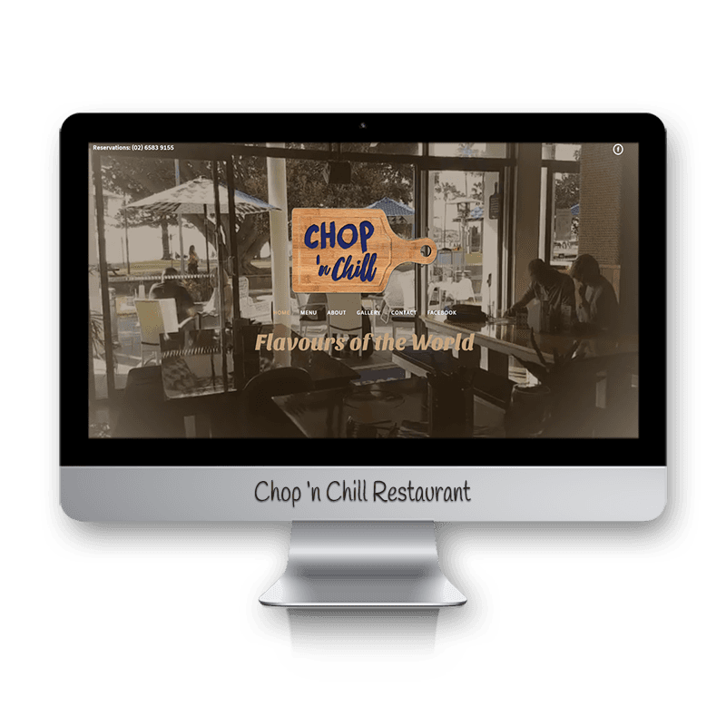 Edgezone Media's Client:Chop and Chill Restaurant Port Macquarie