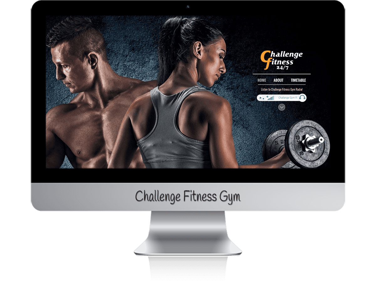 Edgezone Media's Client - Challenge Fitness Gym Port Macquarie website design