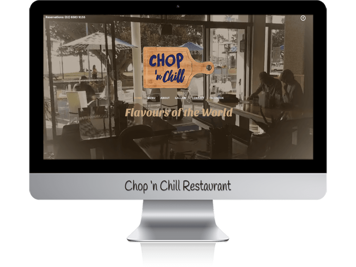 Edgezone Media's Client - Chop And Chill Restaurant.