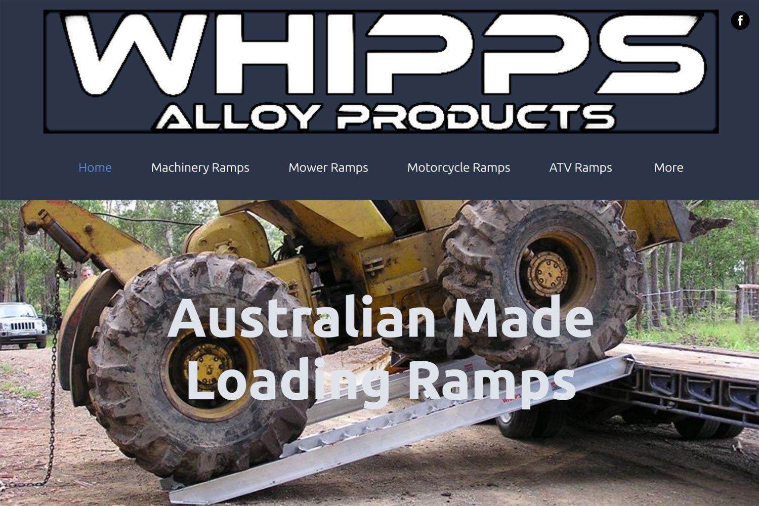 Edgezone Media's Client - Whipps Alloy Products - www.whipps.com.au