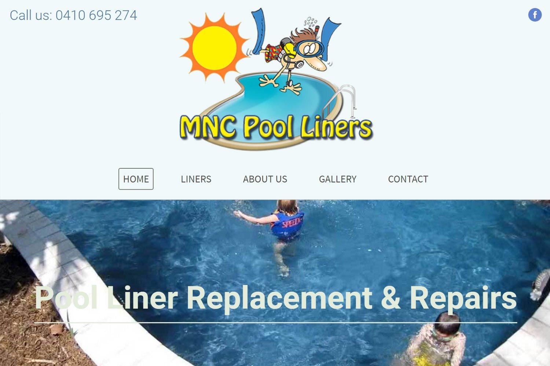Edgezone Media's Client - MNC Pool Liners www.MNCpoolLiners.com