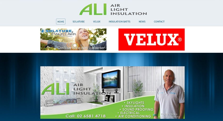 Edgezone Media's Client - Air Light Insulation - www.AirLightInsulation.com