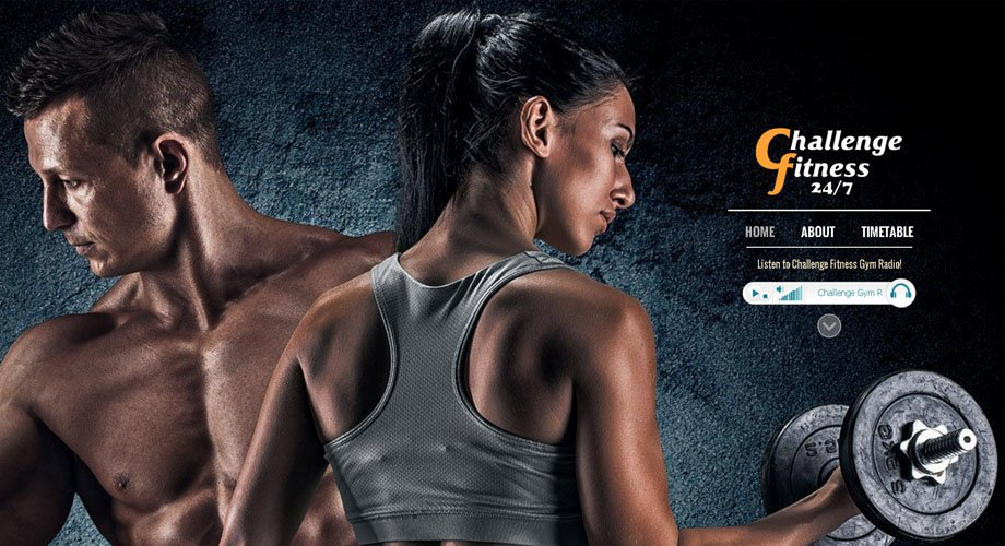 Edgezone Media's Client - Challenge Fitness Gym - www.ChallengeFitness.com.au