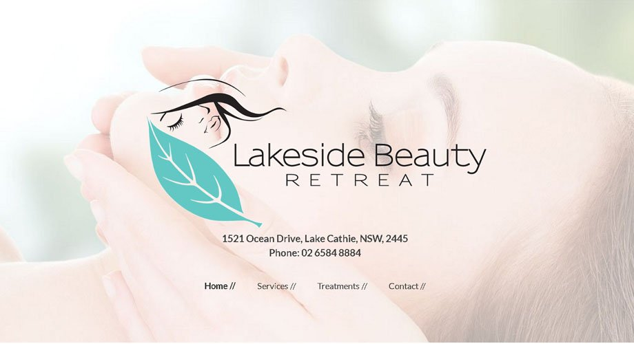 Edgezone Media's Client - Lakeside Beauty Retreat - www.LakesideBeautyRetreat.com