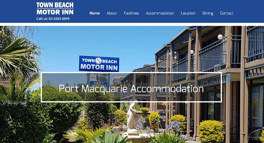 Edgezone Media's Client - Town Beach Motor Inn - www.TownBeachMotorInn.com