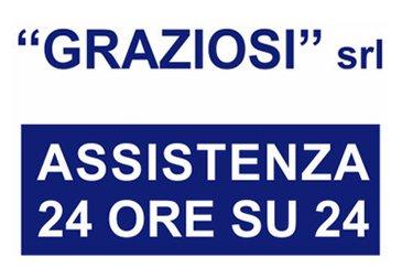 GRAZIOSI SOCCORSO STRADALE 24 ORE SU 24  – Logo