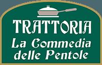 LA COMMEDIA DELLE PENTOLE - LOGO
