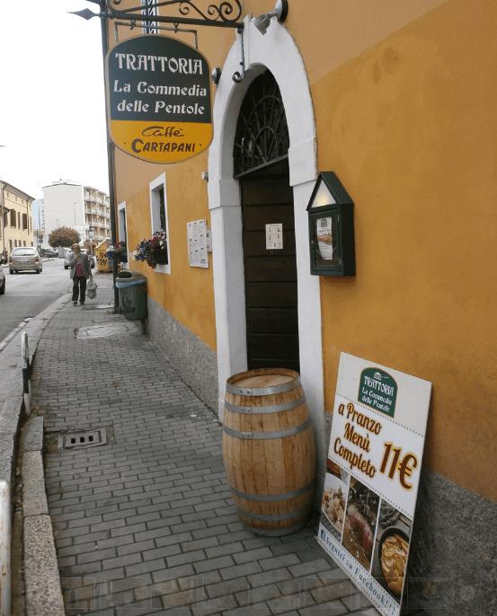 entrata del ristorante