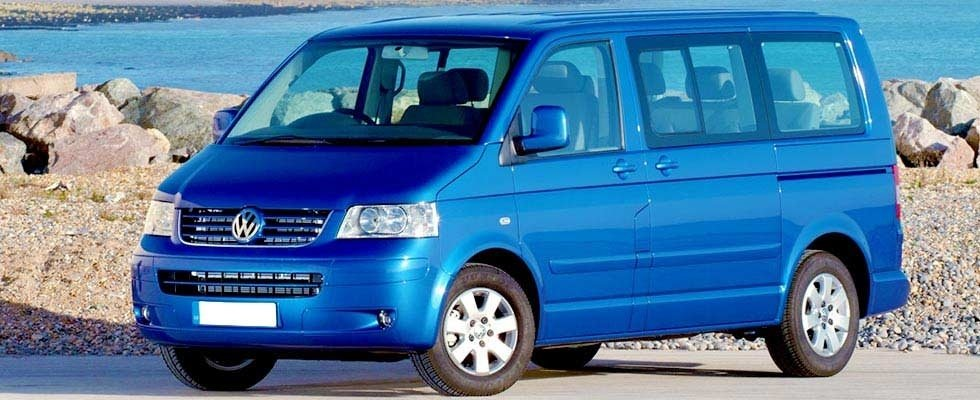 Volkswagen Caravelle Taxi drive NCC