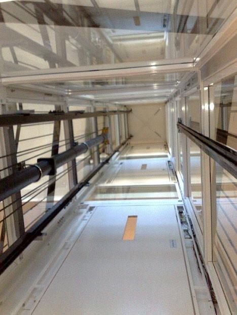 Installazione e manutenzione piattaforme elevatrici for Chiusura vano scala interno