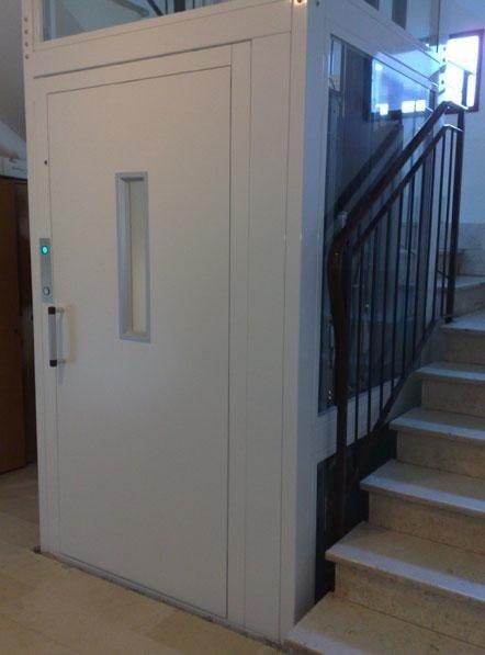Installazione piattaforma elevatrice in condominio