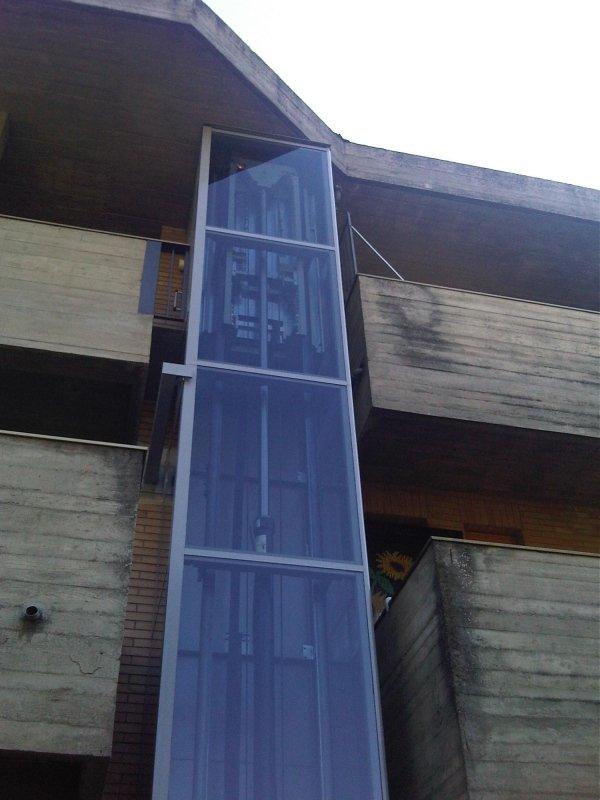 Dettaglio elevatore