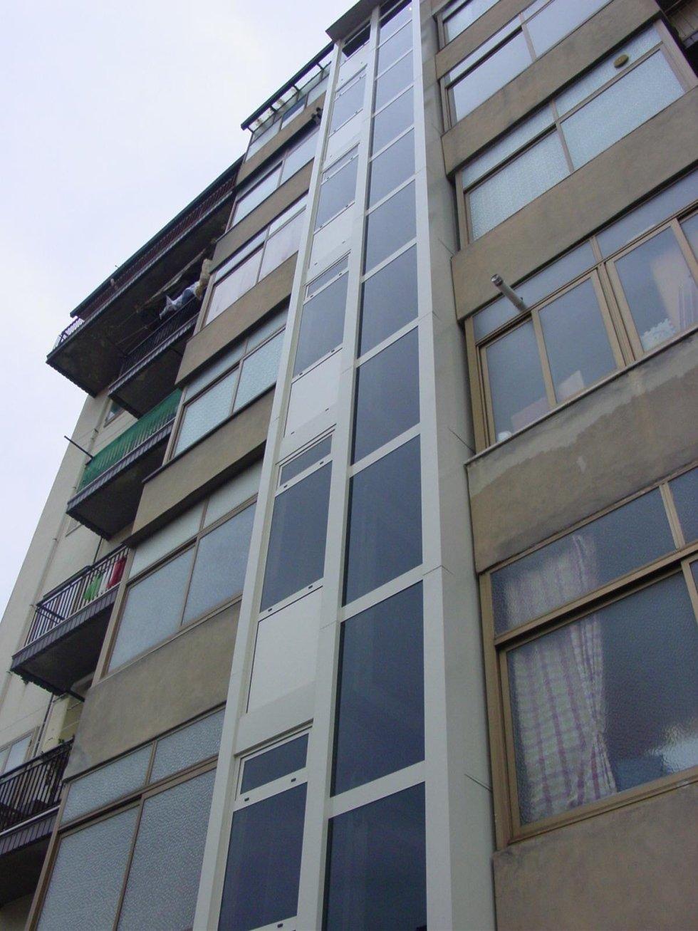 condominio dopo installazione torre esterna