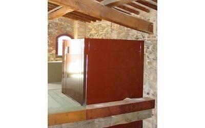 installazione impruneta museo elevatore