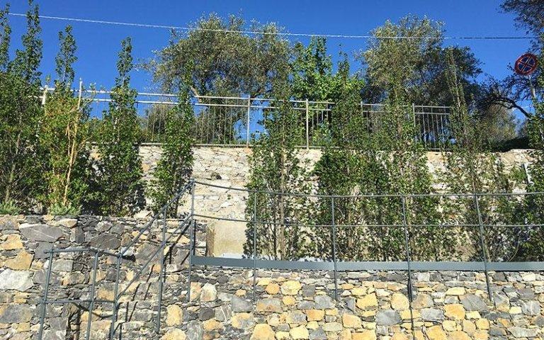Giardini a terrazze in pietra
