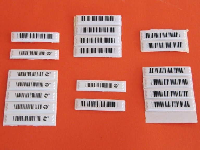 Delle etichette antitaccheggio