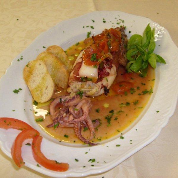 Calamaro in salsa piemontese