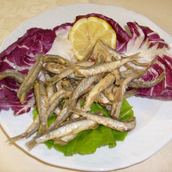 Tradizionale pesce da frittura