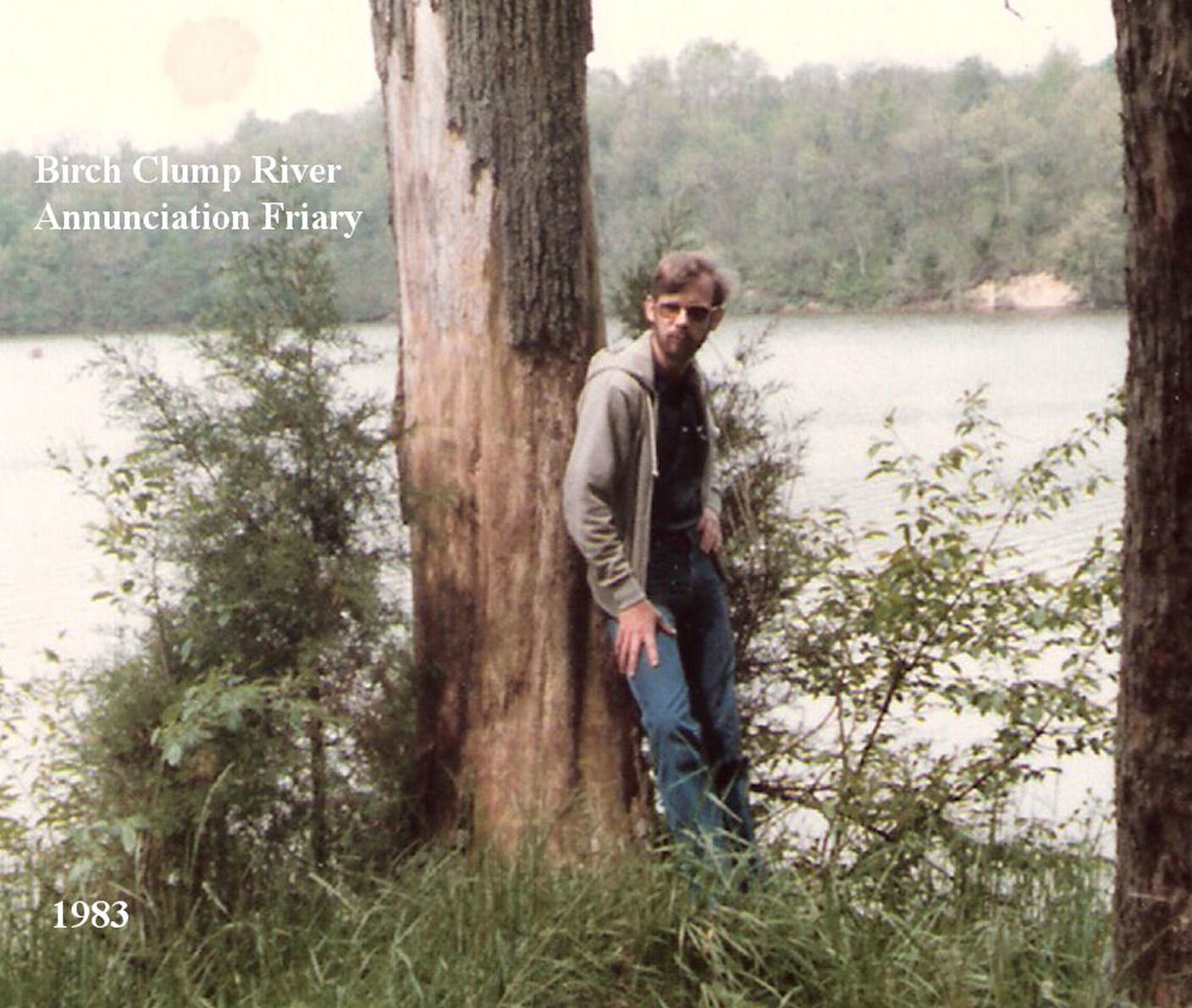 Liberty State Park, IN. Used for view of fictional Birch Clump River. Earlier 1980s