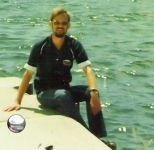 Menominee break water. Maybe 1980/83