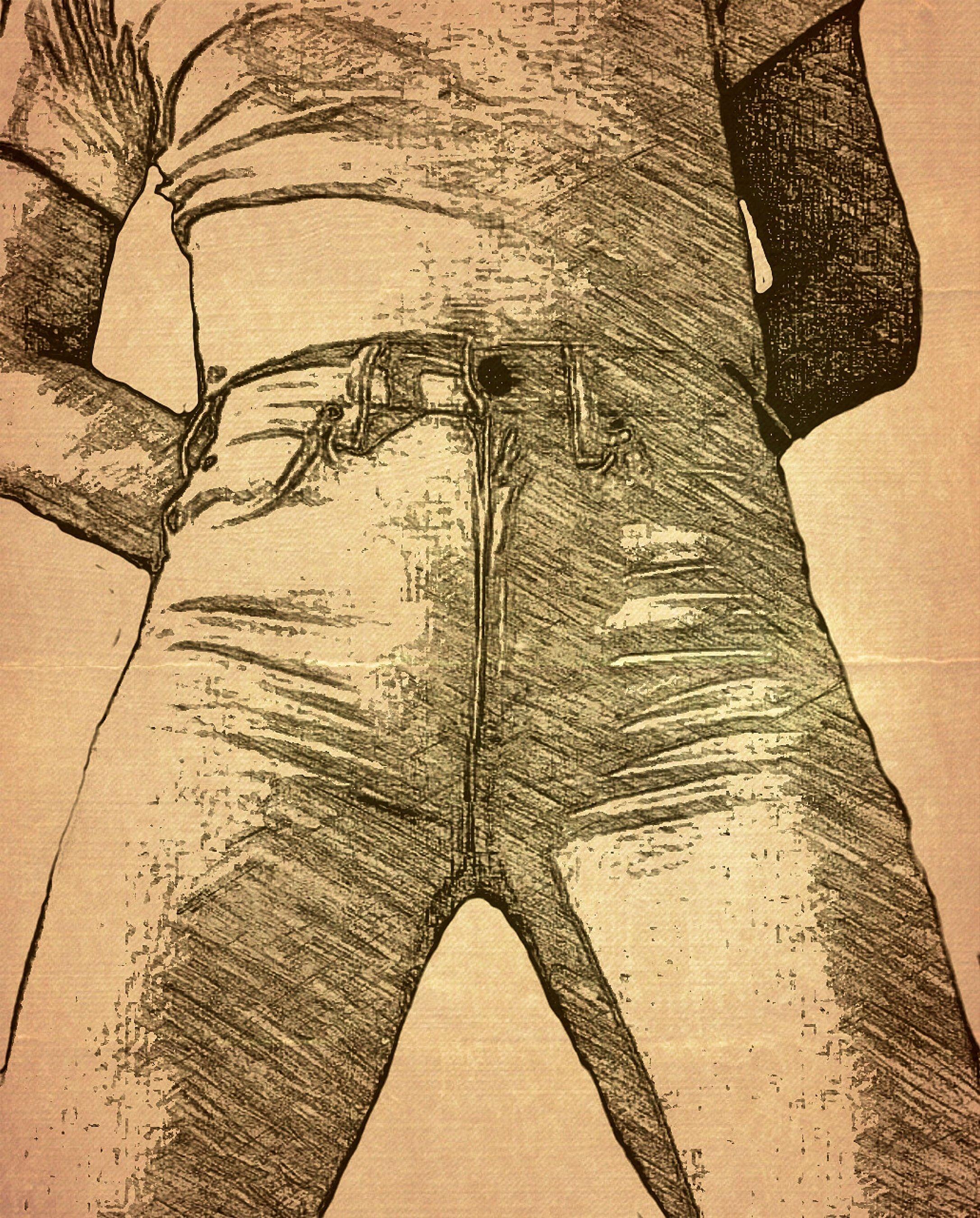 Hawk Dancer, tight jeans, fiction