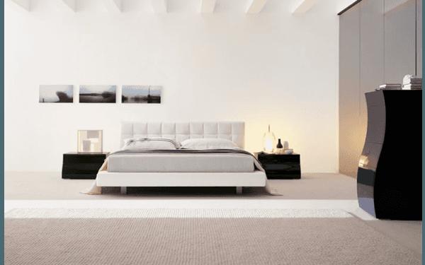 Arredo in stile moderno per camera da letto