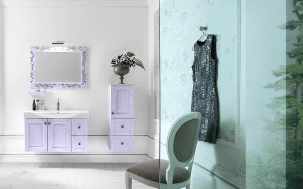 Meubles salle de bains style shabby