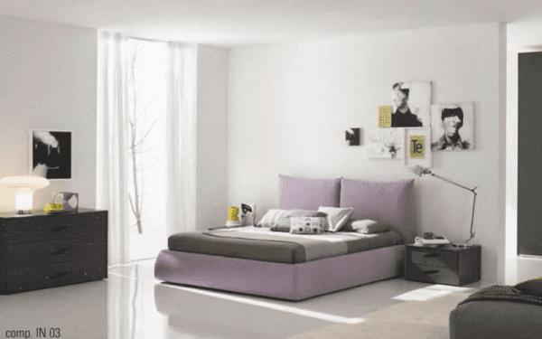 Arredo camera da letto moderno
