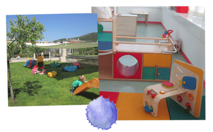 spazi all'aperto per bambini