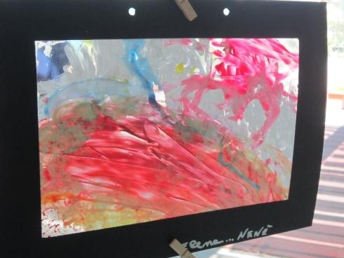 Creazione, arte, giochi collettivi, colori