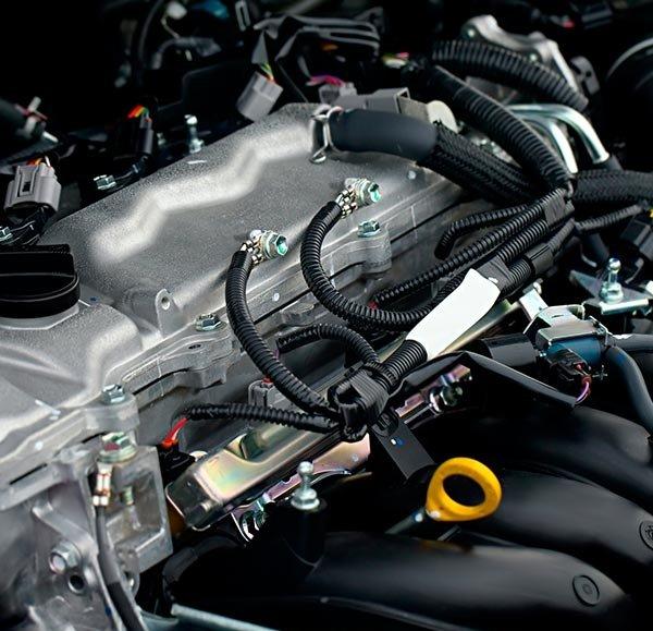 zacks automotive car engine close view