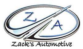 zacks automotive business logo