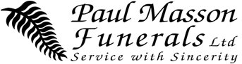 Paul Masson Funerals logo