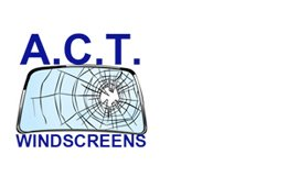 a c t windscreens business logo