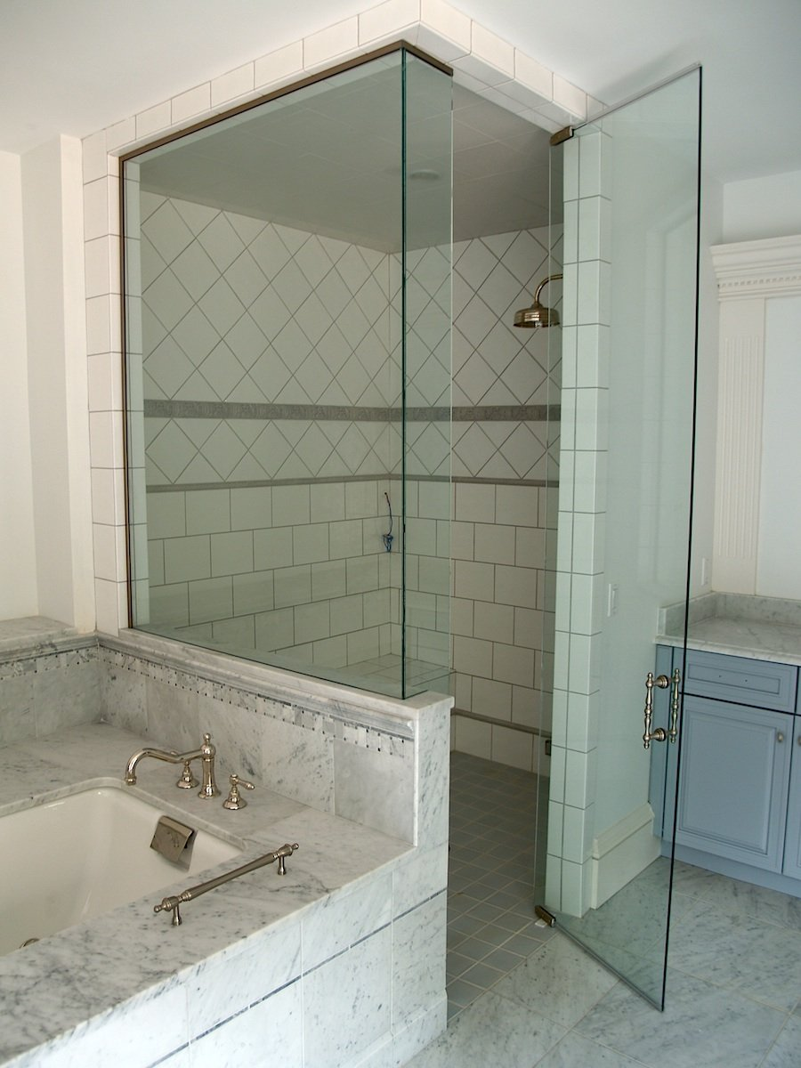 semi shower gc majestic door frameless enclosures vs enclosure framed