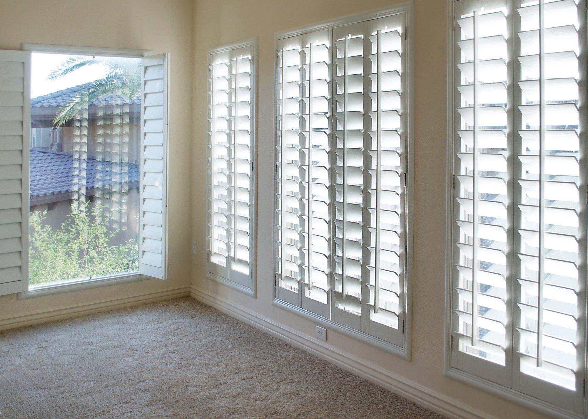 Shutter window coverings