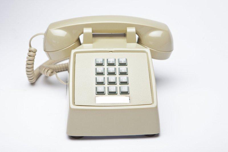 vecchio telefono fisso