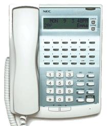 telefono NEC bianco