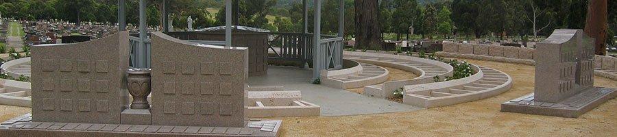 Cremation memorial site