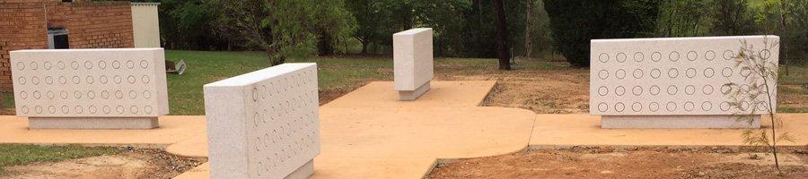 Globe memorial recent project