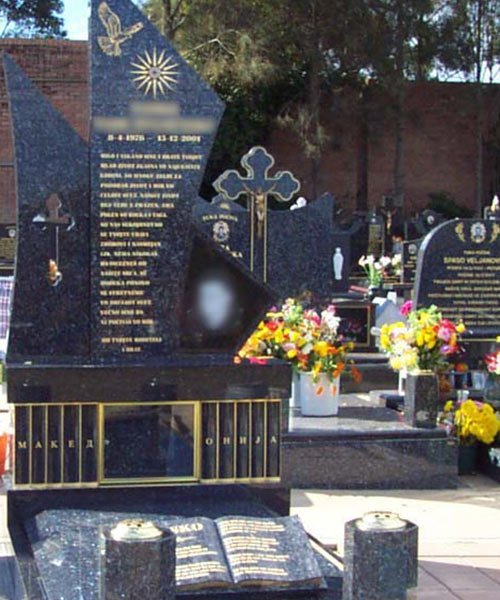cemetery monuments in sydney