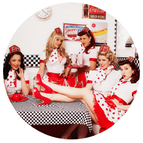 Burlesque show group